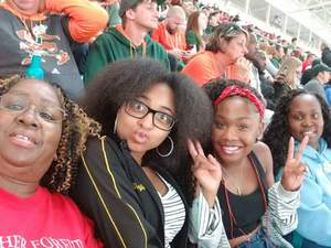Michelle attended 2017 Capital One Orange Bowl - Wisconsin Badgers vs. Miami Hurricanes - NCAA Football on Dec 30th 2017 via VetTix