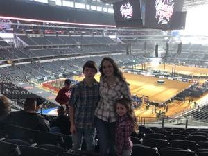 Nicole attended PBR Iron Cowboy on Feb 24th 2018 via VetTix