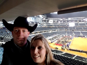 Aaron attended PBR Iron Cowboy on Feb 24th 2018 via VetTix