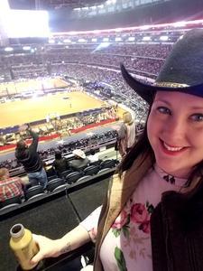 Elizabeth attended PBR Iron Cowboy on Feb 24th 2018 via VetTix