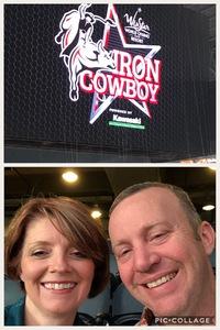 Matthew attended PBR Iron Cowboy on Feb 24th 2018 via VetTix