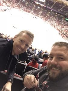 Jeremiah attended Arizona Coyotes vs. Tampa Bay Lightning - NHL on Dec 14th 2017 via VetTix