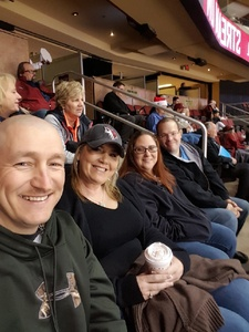 Nichole attended Arizona Coyotes vs. Tampa Bay Lightning - NHL on Dec 14th 2017 via VetTix