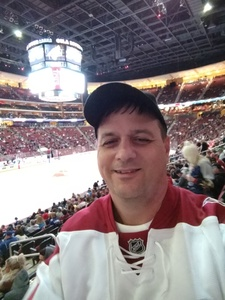 Rob attended Arizona Coyotes vs. Tampa Bay Lightning - NHL on Dec 14th 2017 via VetTix