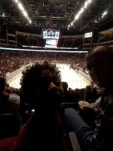 David attended Arizona Coyotes vs. Tampa Bay Lightning - NHL on Dec 14th 2017 via VetTix