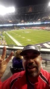 Richard attended 2017 Cactus Bowl - Kansas State Wildcats vs. UCLA Bruins - NCAA Football on Dec 26th 2017 via VetTix