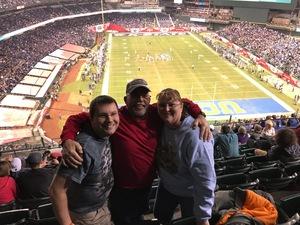Renee attended 2017 Cactus Bowl - Kansas State Wildcats vs. UCLA Bruins - NCAA Football on Dec 26th 2017 via VetTix