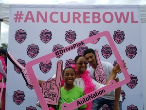 Monica attended Autonation Cure Bowl - Georgia State vs. Western Kentucky - NCAA Football on Dec 16th 2017 via VetTix