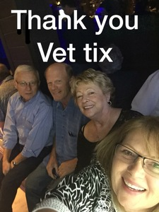 Thomas attended Jefferson Starship - Live in Concert on Jan 25th 2018 via VetTix