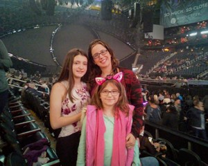 James attended Katy Perry: Witness the Tour on Dec 12th 2017 via VetTix