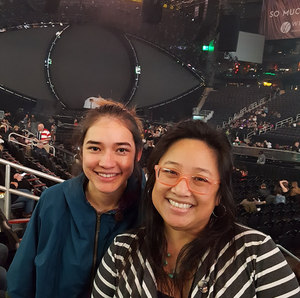 Maria attended Katy Perry: Witness the Tour on Dec 12th 2017 via VetTix