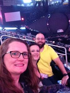 Kathy attended Katy Perry: Witness the Tour on Dec 12th 2017 via VetTix