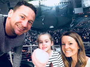 Matt attended Katy Perry: Witness the Tour on Dec 12th 2017 via VetTix