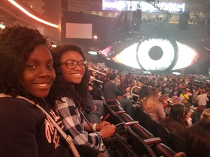 Tametra attended Katy Perry: Witness the Tour on Dec 12th 2017 via VetTix