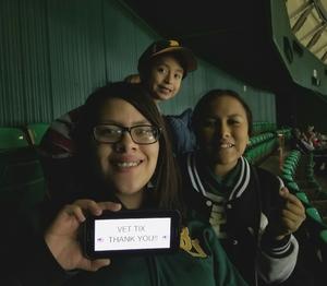 Susan attended Baylor Bears vs. Texas Southern - NCAA Mens Basketball on Dec 14th 2017 via VetTix