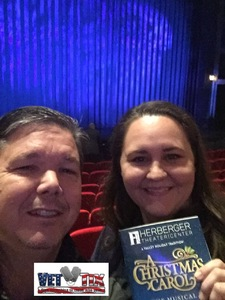 Glenn attended A Christmas Carol the Musical - Tuesday Evening on Dec 26th 2017 via VetTix