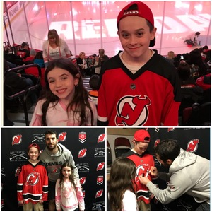 Ayshah attended New Jersey Devils vs. Washington Capitals - NHL - 21 Squad Tickets With Player Meet & Greet! on Jan 18th 2018 via VetTix