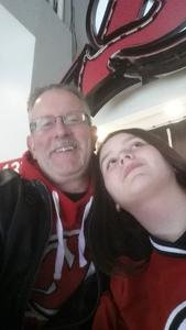 ALAN attended New Jersey Devils vs. Washington Capitals - NHL - 21 Squad Tickets With Player Meet & Greet! on Jan 18th 2018 via VetTix