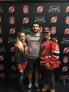 Edwin Bermeo attended New Jersey Devils vs. Washington Capitals - NHL - 21 Squad Tickets With Player Meet & Greet! on Jan 18th 2018 via VetTix