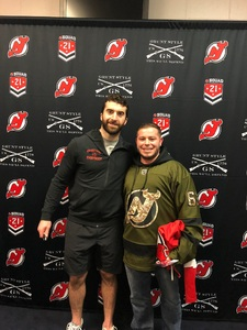 Christopher attended New Jersey Devils vs. Montreal Canadians - NHL - 21 Squad Tickets With Player Meet & Greet! on Mar 6th 2018 via VetTix