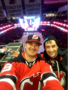 Andrew attended New Jersey Devils vs. Dallas Stars - NHL on Dec 15th 2017 via VetTix