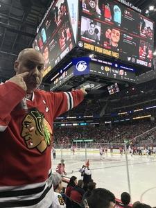Charles attended New Jersey Devils vs. Chicago Blackhawks - NHL on Dec 23rd 2017 via VetTix