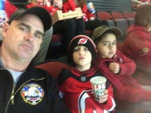 Thomas attended New Jersey Devils vs. Chicago Blackhawks - NHL on Dec 23rd 2017 via VetTix