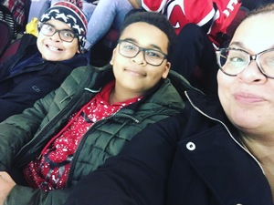 Jahaira Marrero attended New Jersey Devils vs. Chicago Blackhawks - NHL on Dec 23rd 2017 via VetTix