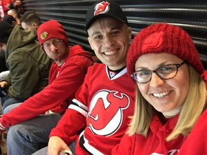 Samantha attended New Jersey Devils vs. Chicago Blackhawks - NHL on Dec 23rd 2017 via VetTix