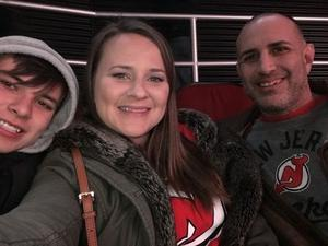 Nathaniel attended New Jersey Devils vs. Chicago Blackhawks - NHL on Dec 23rd 2017 via VetTix