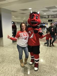 Doug R. attended New Jersey Devils vs. Detroit Red Wings - NHL on Dec 27th 2017 via VetTix