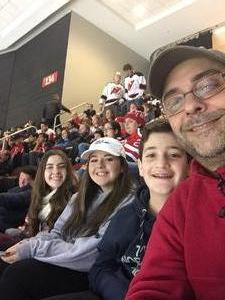 Michael attended New Jersey Devils vs. Detroit Red Wings - NHL on Dec 27th 2017 via VetTix