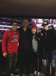 Paul attended New Jersey Devils vs. Detroit Red Wings - NHL on Dec 27th 2017 via VetTix