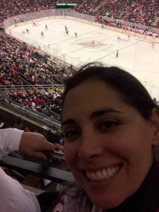 Gina attended New Jersey Devils vs. Detroit Red Wings - NHL on Dec 27th 2017 via VetTix