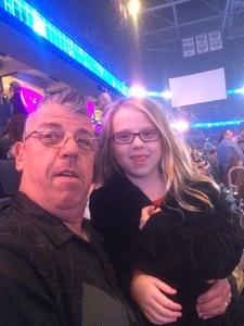 Michael and Family attended Katy Perry: Witness the Tour on Dec 15th 2017 via VetTix