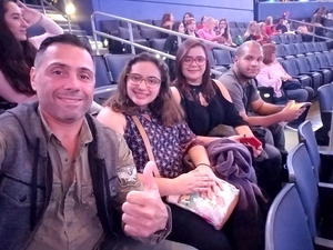 Ramon attended Katy Perry: Witness the Tour on Dec 15th 2017 via VetTix