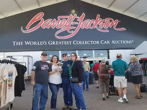Jimmy attended Barrett Jackson - the Worlds Greatest Collector Car Auctions - 1 Ticket Equals 2 - Sunday on Jan 14th 2018 via VetTix