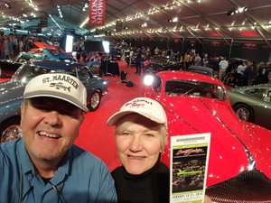 Paul attended Barrett Jackson - the Worlds Greatest Collector Car Auctions - 1 Ticket Equals 2 - Sunday on Jan 14th 2018 via VetTix