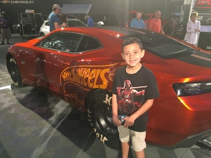 Sean attended Barrett Jackson - the Worlds Greatest Collector Car Auctions - 1 Ticket Equals 2 - Sunday on Jan 14th 2018 via VetTix