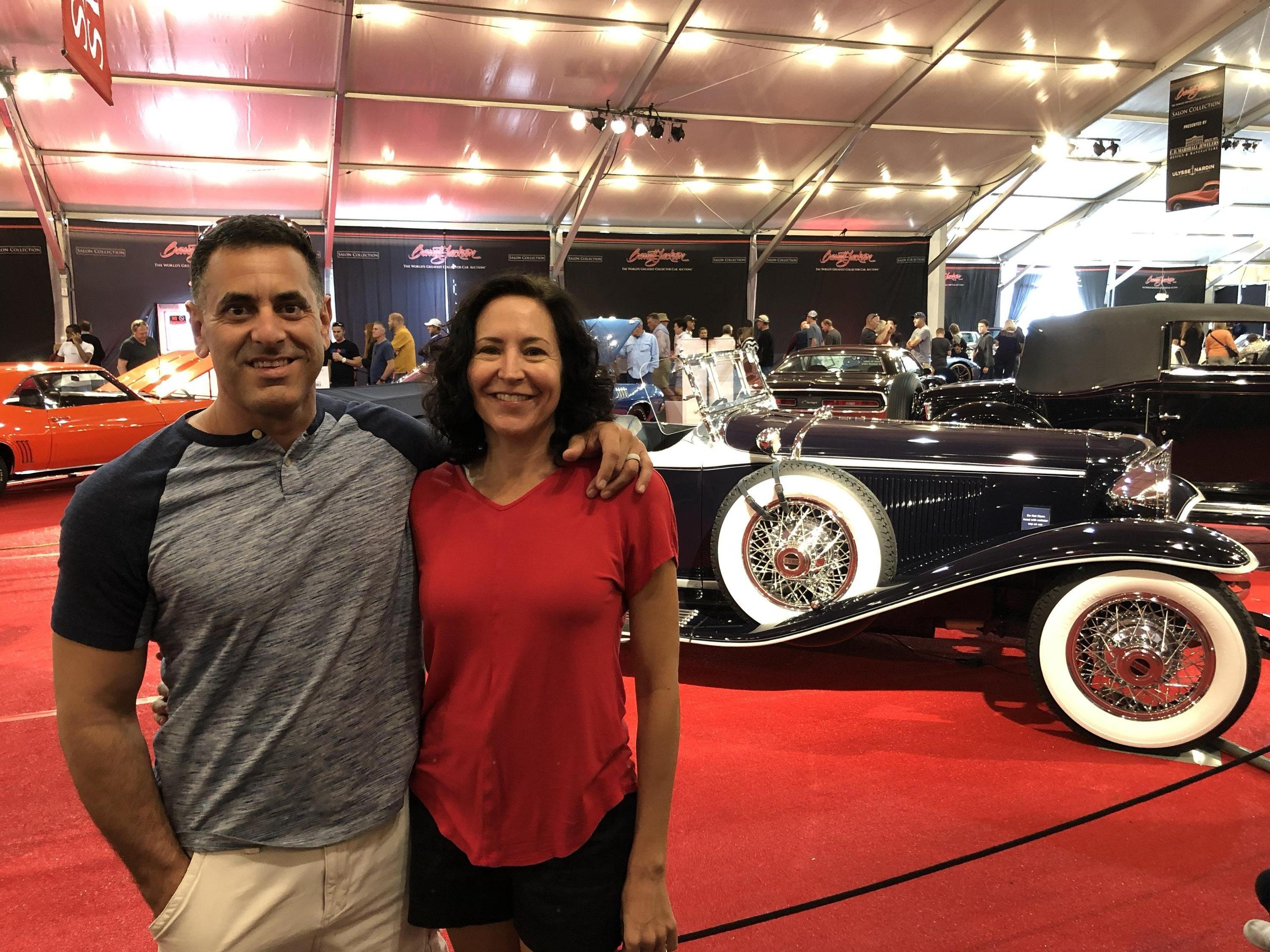 Thank You Messages To Veteran Tickets Foundation Donors - Barrett jackson car show