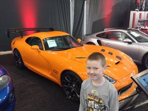 Steven attended Barrett Jackson - the Worlds Greatest Collector Car Auctions - 1 Ticket Equals 2 - Sunday on Jan 14th 2018 via VetTix