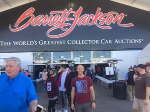 Paul attended Barrett Jackson - the Worlds Greatest Collector Car Auctions - 1 Ticket Equals 2 - Monday on Jan 15th 2018 via VetTix