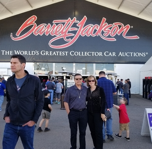 Gary attended Barrett Jackson - the Worlds Greatest Collector Car Auctions - 1 Ticket Equals 2 - Monday on Jan 15th 2018 via VetTix