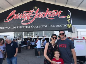 Troy attended Barrett Jackson - the Worlds Greatest Collector Car Auctions - 1 Ticket Equals 2 - Monday on Jan 15th 2018 via VetTix