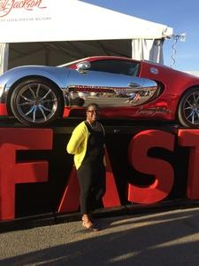 Pamela attended Barrett Jackson - the Worlds Greatest Collector Car Auctions - 1 Ticket Equals 2 - Monday on Jan 15th 2018 via VetTix