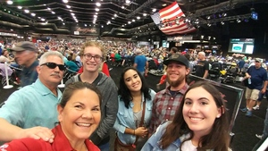Amber attended Barrett Jackson - the Worlds Greatest Collector Car Auctions - 1 Ticket Equals 2 - Monday on Jan 15th 2018 via VetTix