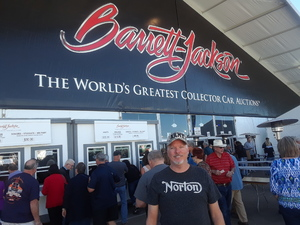 Jeffery attended Barrett Jackson - the Worlds Greatest Collector Car Auctions - 1 Ticket Equals 2 - Monday on Jan 15th 2018 via VetTix
