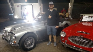 Justin attended Barrett Jackson - the Worlds Greatest Collector Car Auctions - 1 Ticket Equals 2 - Monday on Jan 15th 2018 via VetTix