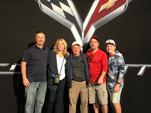 Thomas attended Barrett Jackson - the Worlds Greatest Collector Car Auctions - 1 Ticket Equals 2 - Monday on Jan 15th 2018 via VetTix