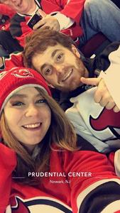 Domenico attended New Jersey Devils vs. Philadelphia Flyers - NHL on Jan 13th 2018 via VetTix